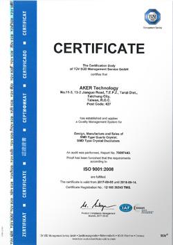 AKER ISO 9001:2008