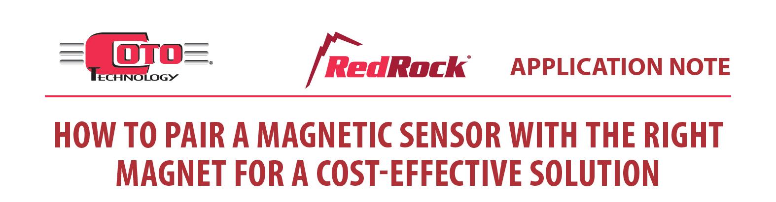 Jak dopasować czujnik magnetyczny TMR do odpowiedniego magnesu dla uzyskania efektywnego kosztowo rozwiązania?