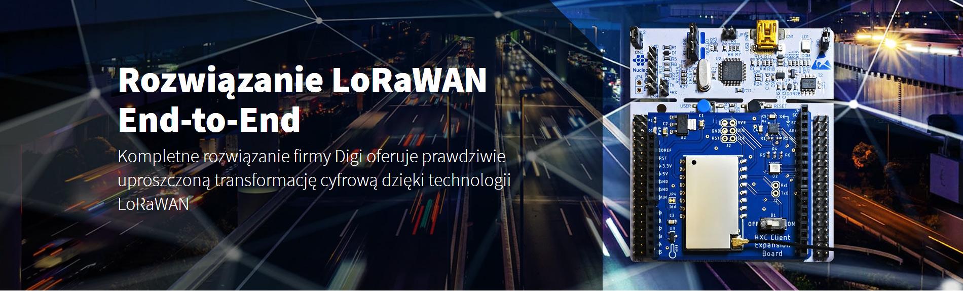 Kompletne rozwiązanie firmy Digi oferuje prawdziwie uproszczoną transformację cyfrową dzięki technologii LoRaWAN - Digi LoRaWAN Starter Kit (#XON-9-L1-KIT-001)
