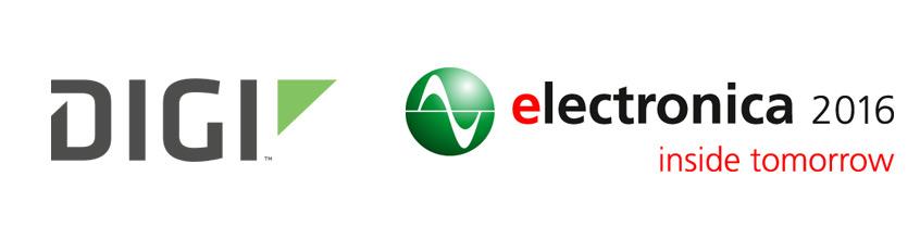 Digi International na targach Electronica 2016 + Promocja na zestawy deweloperskie do 60% taniej!