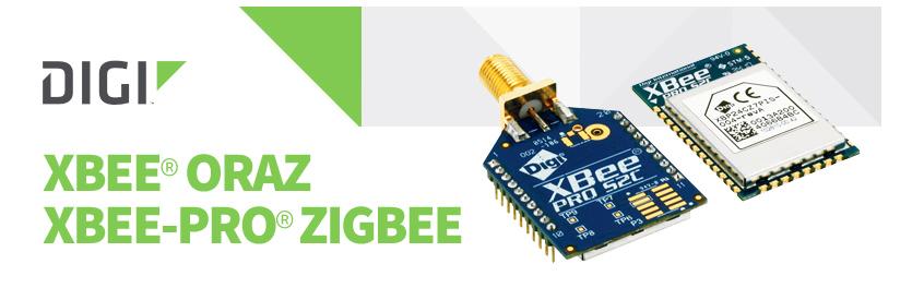 Nowa wersja modułu radiowego XBee ZigBee (S2C) firmy Digi International