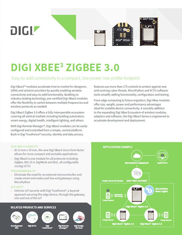 Digi XBee3™