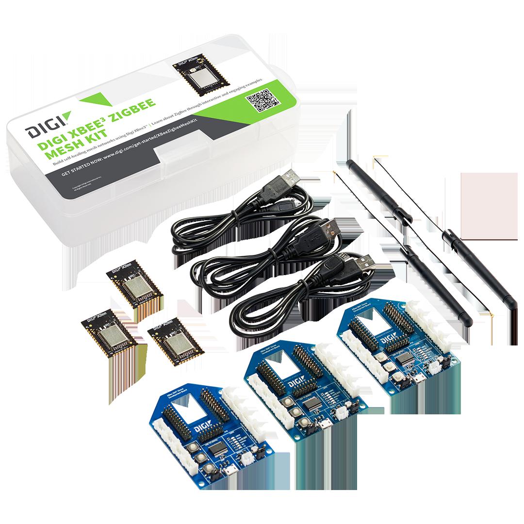 Digi XBee3™ ZigBee Mesh Kit