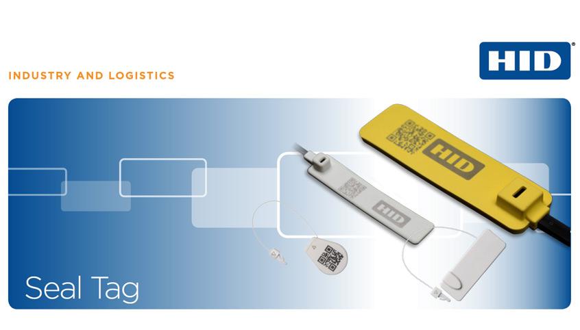 Transpondery Seal Tag firmy HID Global dla kontroli wizualnej oraz zdalnej kontroli sabotażowej.