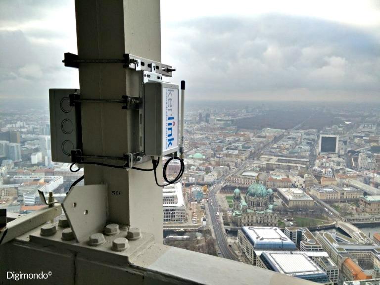 Kerlink Wirnet Station bramka LoRaWAN dla aplikacji IoT