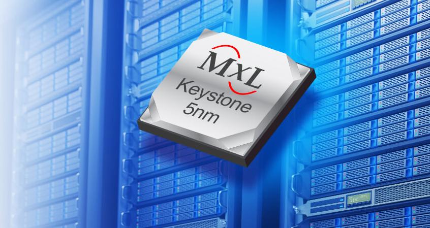 Najnowsze i wysokozintegrowane 5nm procesory DSP SoC serii Keystone firmy MaxLinear