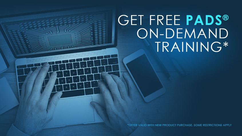 Roczny dostęp do platformy szkoleń na żądanie - On Demand Training, przy odnowieniu lub zakupie nowej licencji PADS Professional