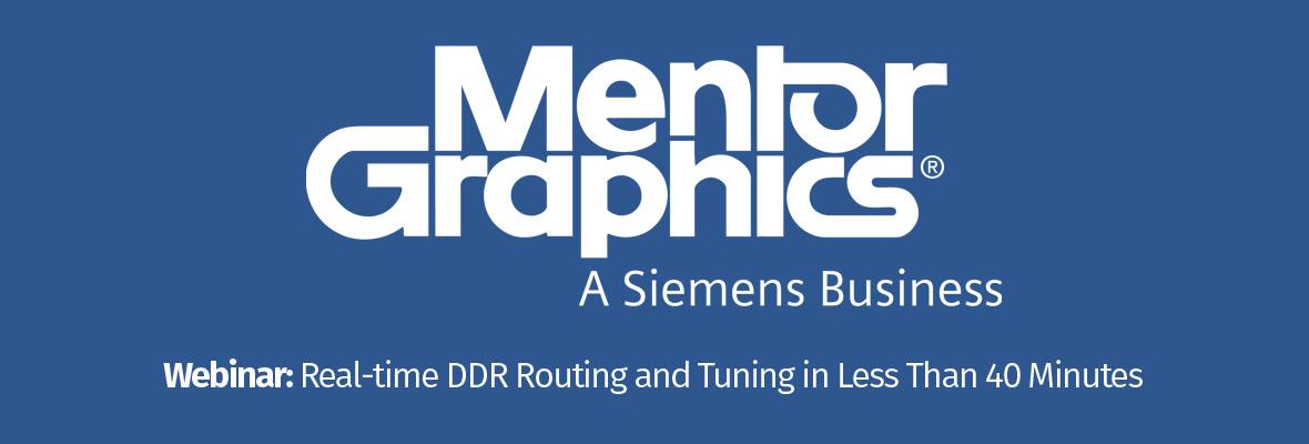 Webinar Mentor Graphics - Edycja i strojenie interfejsu DDR w mniej niż 40 minut