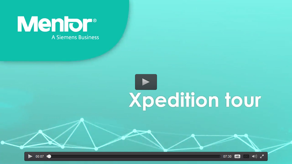 Mentor Graphics Xpedition Tour