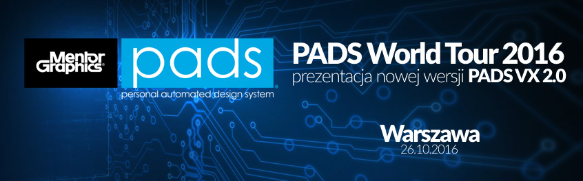 PADS World Tour 2016: Cykl prezentacji live PADS VX 2.0 w Polsce
