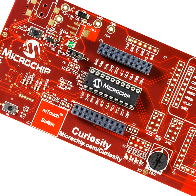 Curiosity Development Board (DM164137)