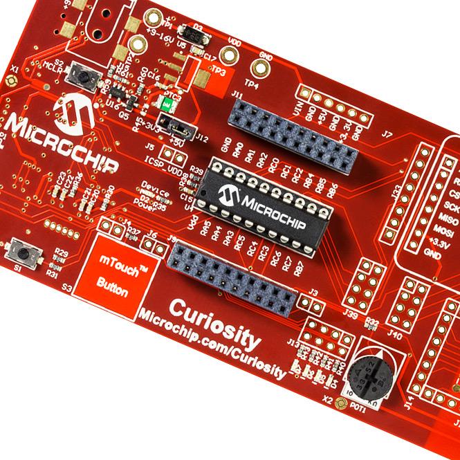 Curiosity Development Board (DM164137)