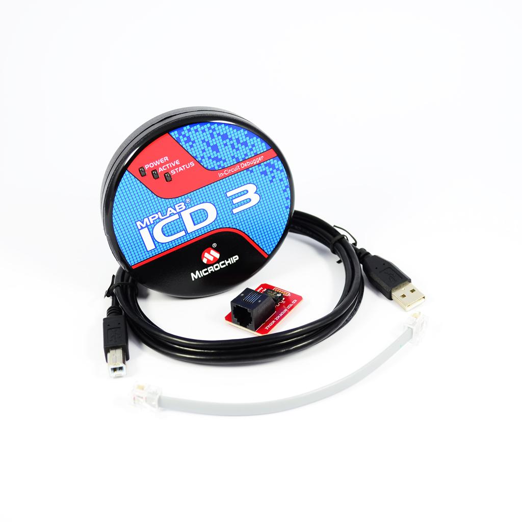 MPLAB ICD 3 In-Circuit Debugger (DV164035)