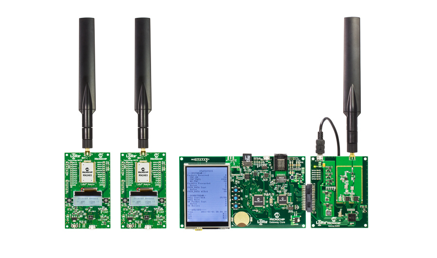 LoRa(R) Technology Evaluation Kit - 800