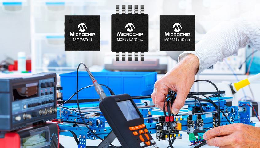 Nowe konwertery ADC typu SAR firmy Microchip