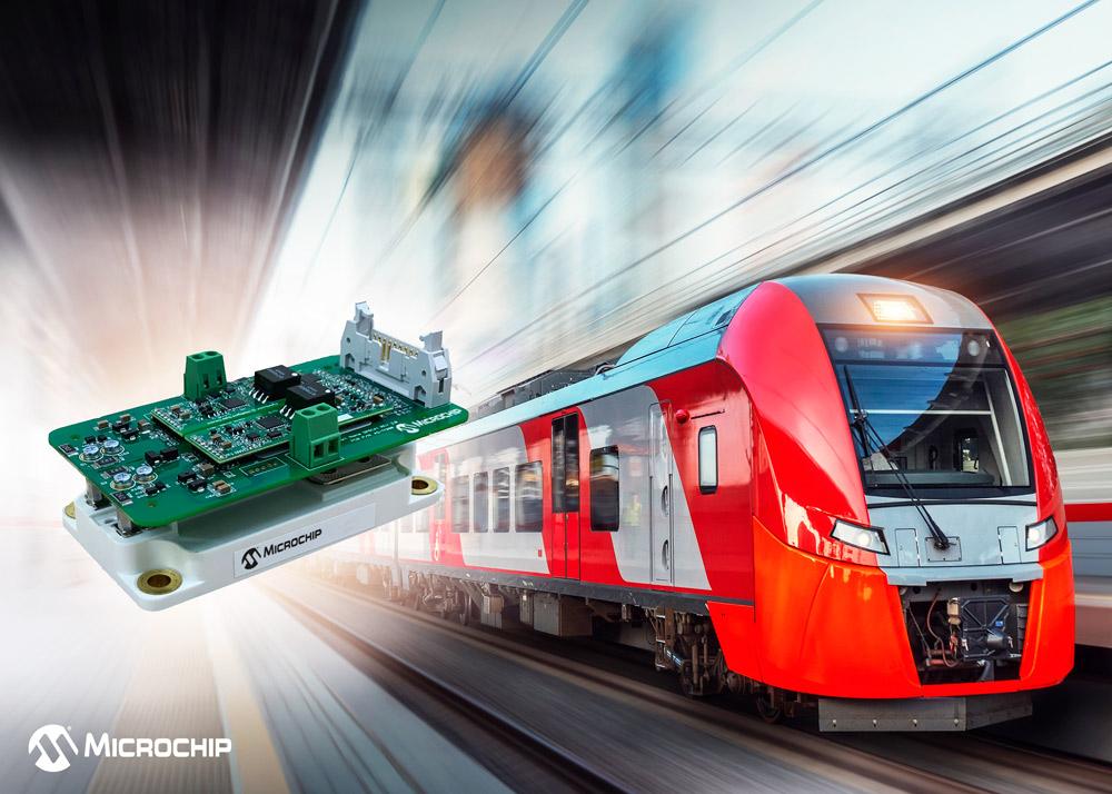 Programowalne sterowniki AgileSwitch® oraz moduły zasilania SP6LI SiC firmy Microchip umożliwiają innowacje w nowoczesnych aplikacjach transportowych