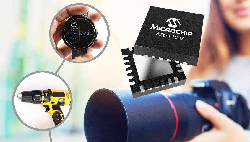 Nowe 8-bitowe mikrokontrolery PIC18 Q10 oraz ATtiny1607 firmy Microchip z rozbudowanymi możliwościami kontroli zamkniętej pętli