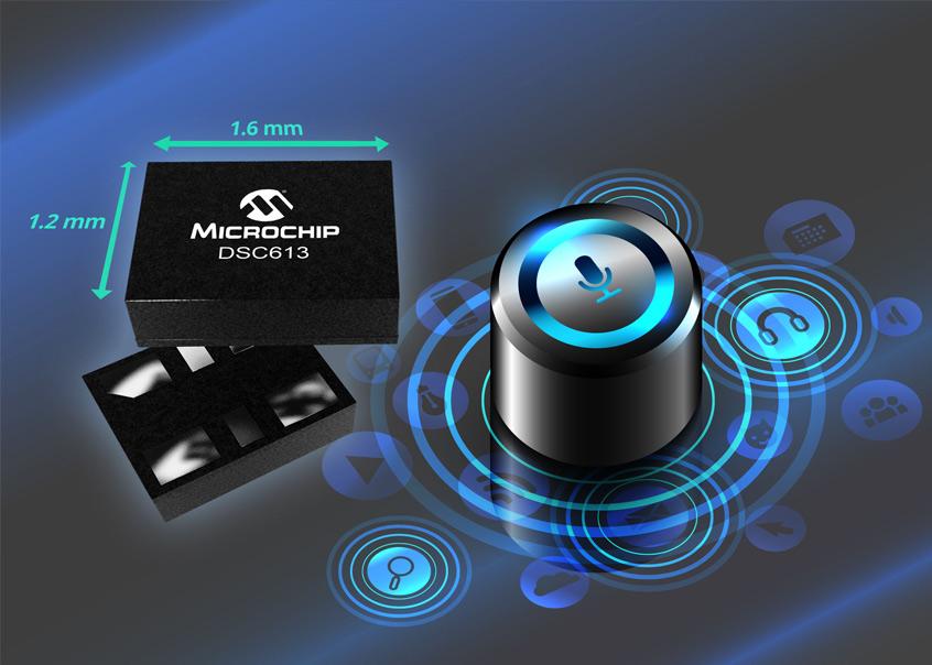 DSC613 nowy generator zegara MEMS firmy Microchip dla znacznego wydłużenia pracy urządzeń przenośnych zasilanych bateryjnie