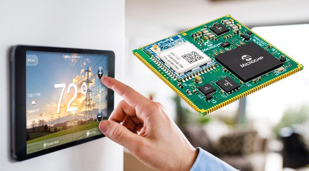 Ensemble Graphics Toolkit firmy Microchip wspiera rozwój aplikacji GUI opartych na 32-bitowych mikroprocesorach SAMA5 i SAM9