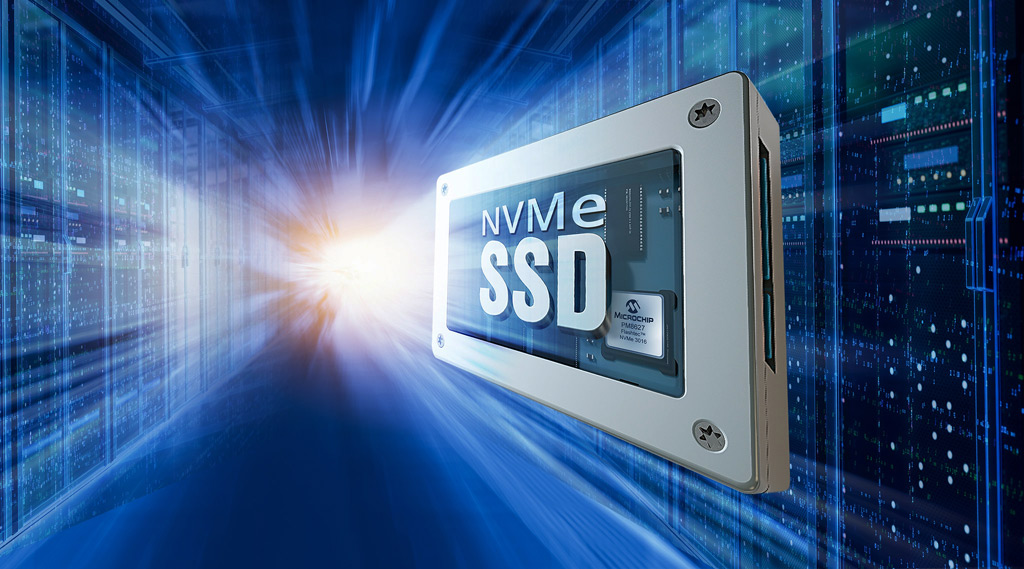 Kontrolery Flashtec NVMe Gen 4 PCIe® firmy Microchip