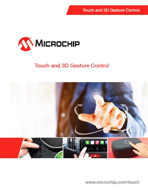 Rozwiązania interfejsów dotykowych firmy Microchip