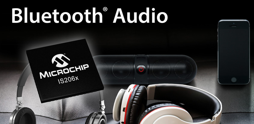 Microchip IS206X Bluetooth 4.2 BLE