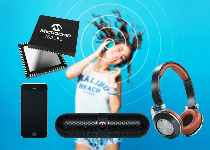 Nowy układ IS2083BM oraz moduł BM83 firmy Microchip z obsługą technologii Bluetooth 5.0