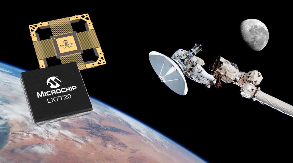 Wzmocnione przed promieniowaniem, sterowniki silników LX7720 firmy Microchip dla aplikacji kosmicznych