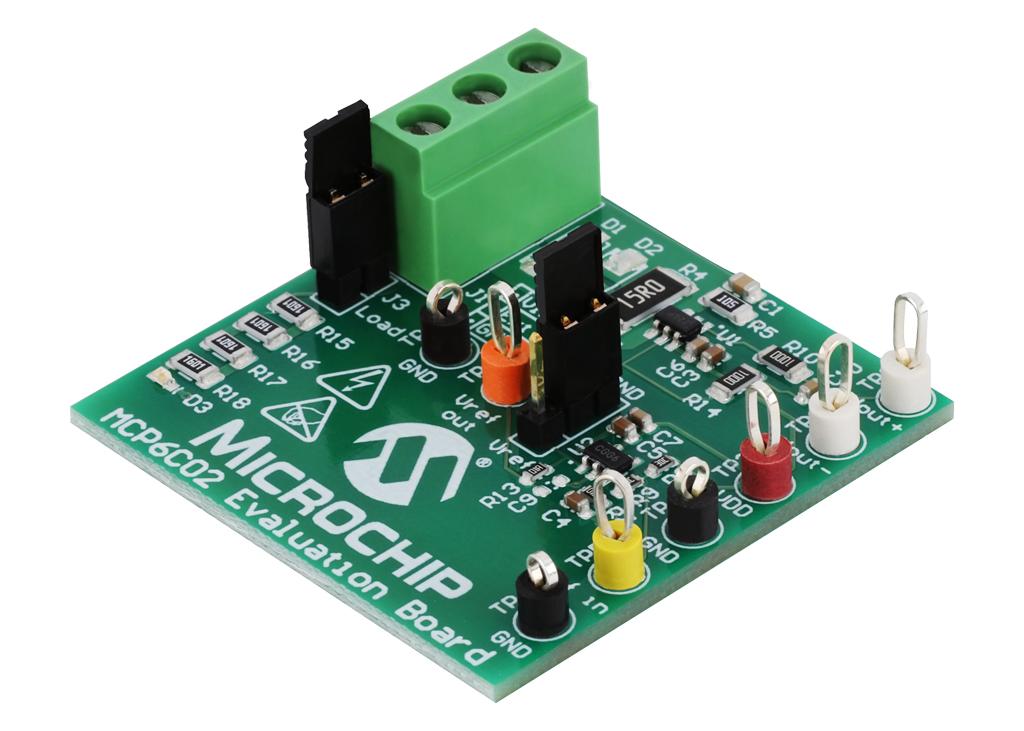 Wzmacniacz MCP6C02 firmy microchip z najniższym offsetem napięcia spośród wszystkich wzmacniaczy high-side klasy AEC-Q100 Grade 0