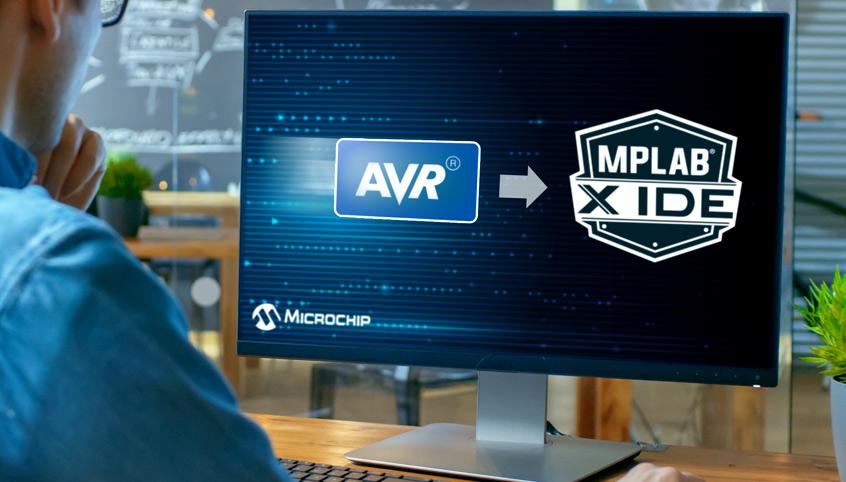 MPLAB X Integrated Development Environment firmy Microchip od teraz z obsługą mikrokontrolerów AVR