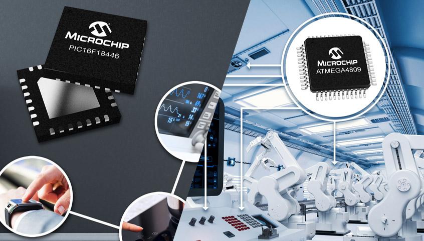 Dwie nowości w portfolio 8-bitowych mikrokontrolerów PIC oraz ATmega firmy Microchip