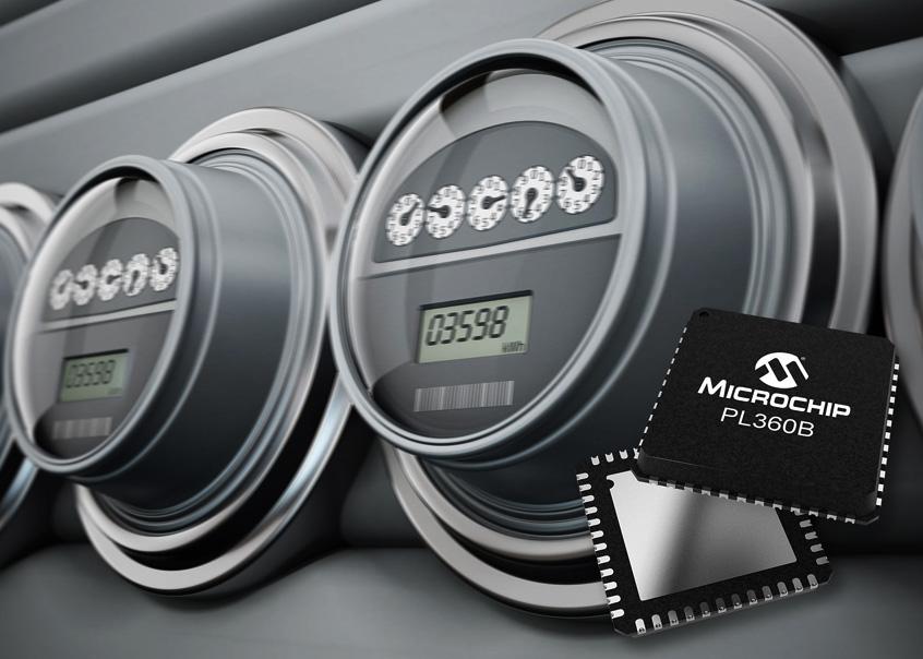 PL360 wydajny modem firmy Microchip dla elastycznej obsługi protokołów komunikacyjnych Power Line Communication (PLC)