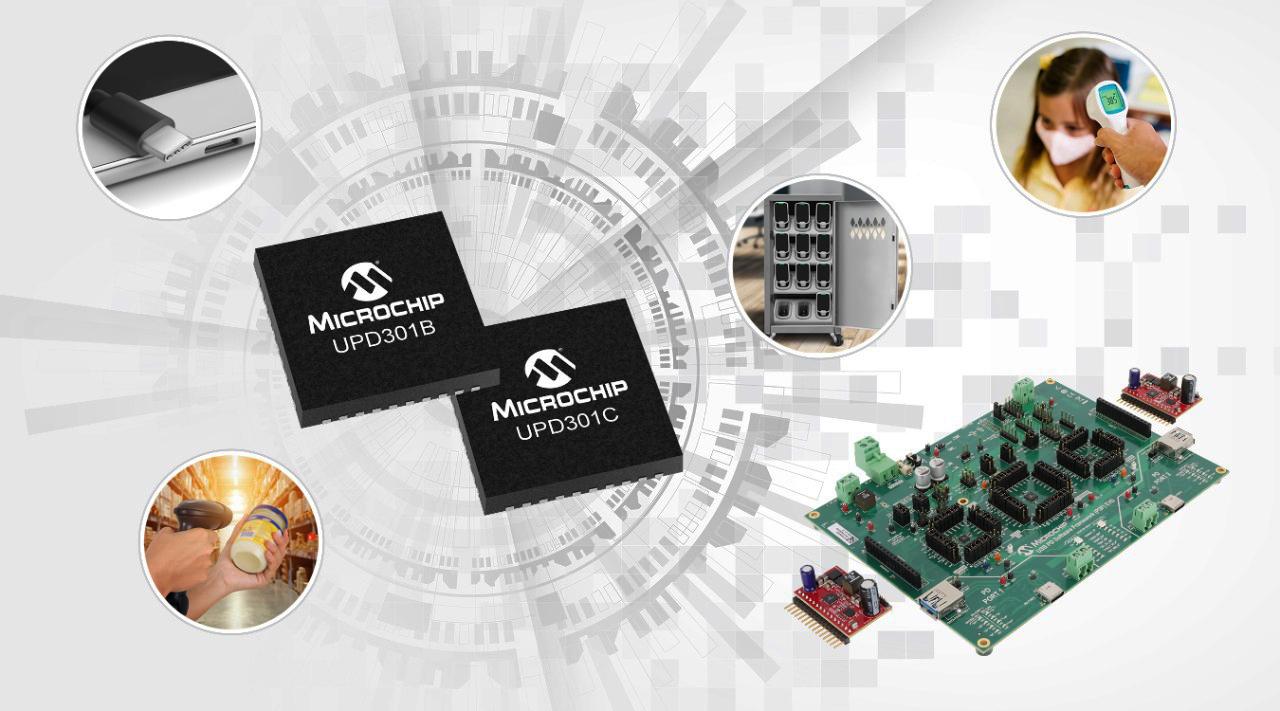 USB Power Delivery Software Framework firmy Microchip umożliwia prostą implementację łączności USB PD3.0 w istniejących aplikacjach