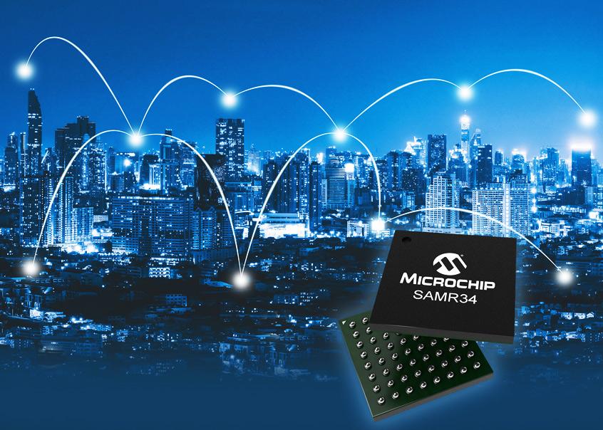 SAM R34/35 nowe układy SiP firmy Microchip dla aplikacji LoRa®