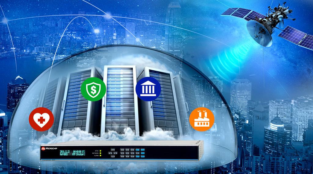 Technologia BlueSky™ teraz w serwerze czasu SyncServer S600 / S650 firmy Microchip