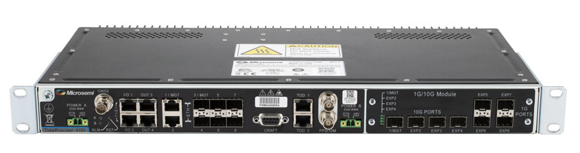 Microchip TimeProvider®4100 - brama precyzyjnego pomiaru czasu z obsługą vPRTC dzięki nowej aktualizacji oprogramowania