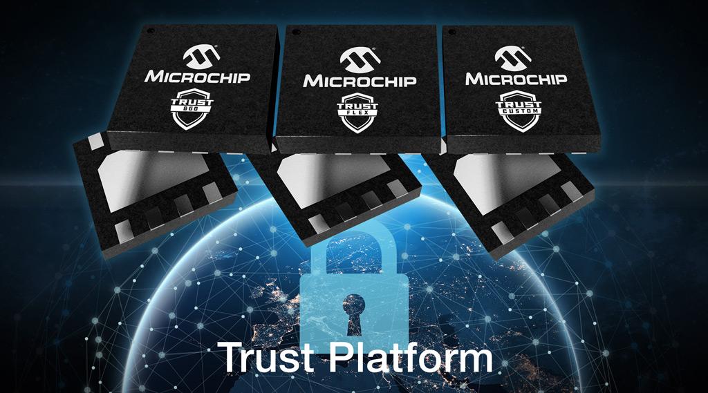 Trust Platform Design Suite - dedykowana platforma firmy Microchip dla implementacji i konfiguracji bezpiecznych usług uwierzytelniania