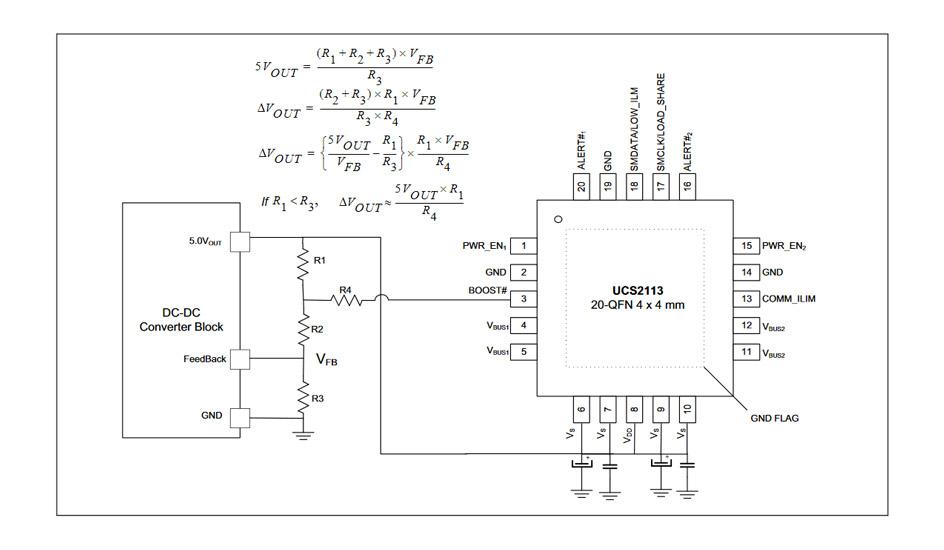 Microchip UCS2113 podwójny zasilający switch ze wsparciem dla USB typu C (zgodny z normą BC 1.2) o maksymalnej mocy ładowania do 15W