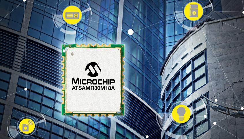 Najmniejszy w branży moduł komunikacyjny SiP zgodny ze standardem IEEE 802.15.4 od firmy Microchip