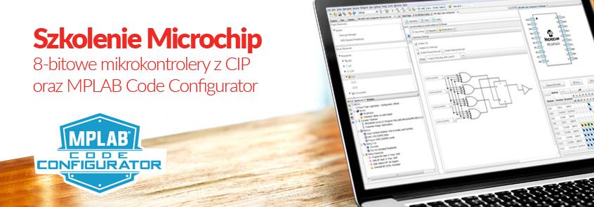 Szkolenie Microchip: 8-bitowe mikrokontrolery z CIP oraz MPLAB Code Configurator