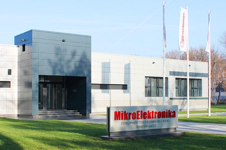 Siedziba firmy MikroElektronika