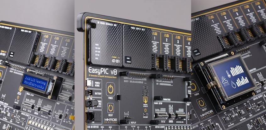 MikroElektronika EasyPIC v8