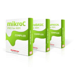 Kompilatory MikroElektronika mikroC/Basic/Pascal PRO dla ARM