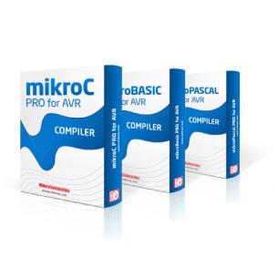 Kompilatory MikroElektronika mikroC/Basic/Pascal PRO dla mikrokontrolerów AVR