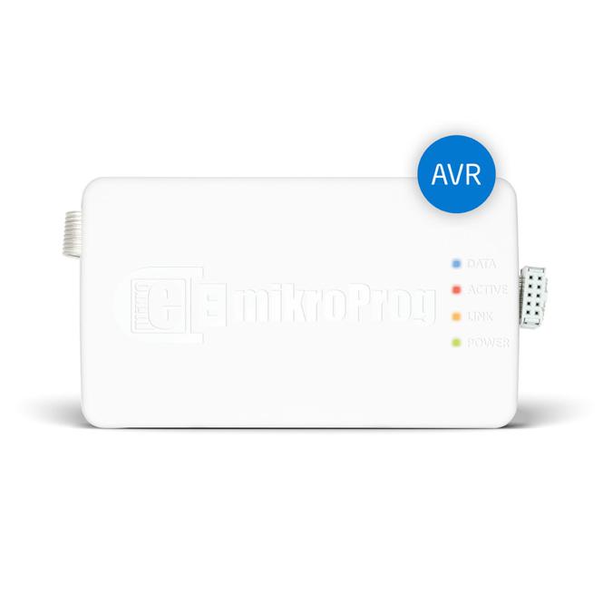 Programator i debugger MikroElektronika mikroProg™ dla AVR