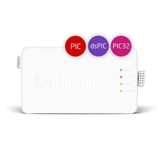 Programator i debugger MikroElektronika mikroProg™ dla PIC, dsPIC oraz PIC32