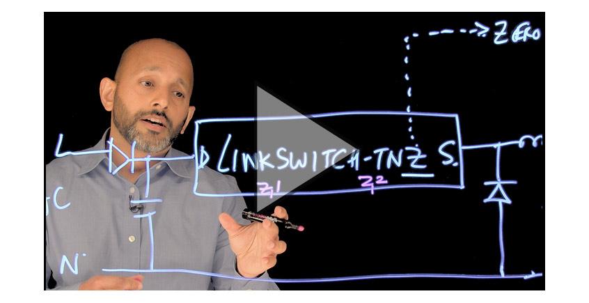 LinkSwitch™ -TNZ zintegrowany sterownik zasilaczy inpulsowych firmy Power Integrations obniża BOM o 40%