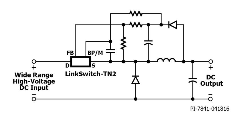 LinkSwitch™-TN2 nowa rodzina IC dla zasilaczy bez izolacji galwanicznej od firmy Power Integrations