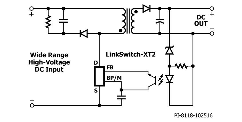 LinkSwitch-XT2 nowa rodzina niskiej mocy przetworników dla izolowanych oraz nieizolowanych aplikacji w topologii Flyback do 9,2W firmy Power Integrations