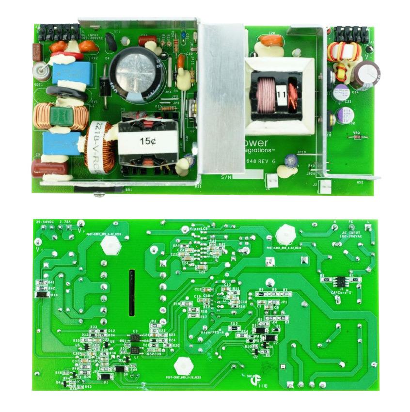 Projekt 150W, wysokiej sprawności zasilacza LED dla aplikacji oświetlenia ulicznego, bazującego na komponentach firmy Power Integrations (DER-648)